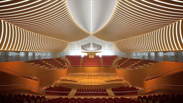 سالن هنر و کنفرانس بین المللی Yuan ze