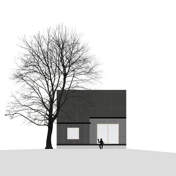 خانه ای از جنس صنوبر