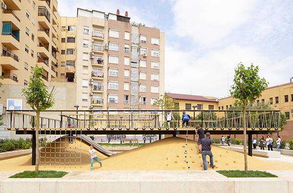 لنداسکیپ زمین بازی میدان سانتا ماریا