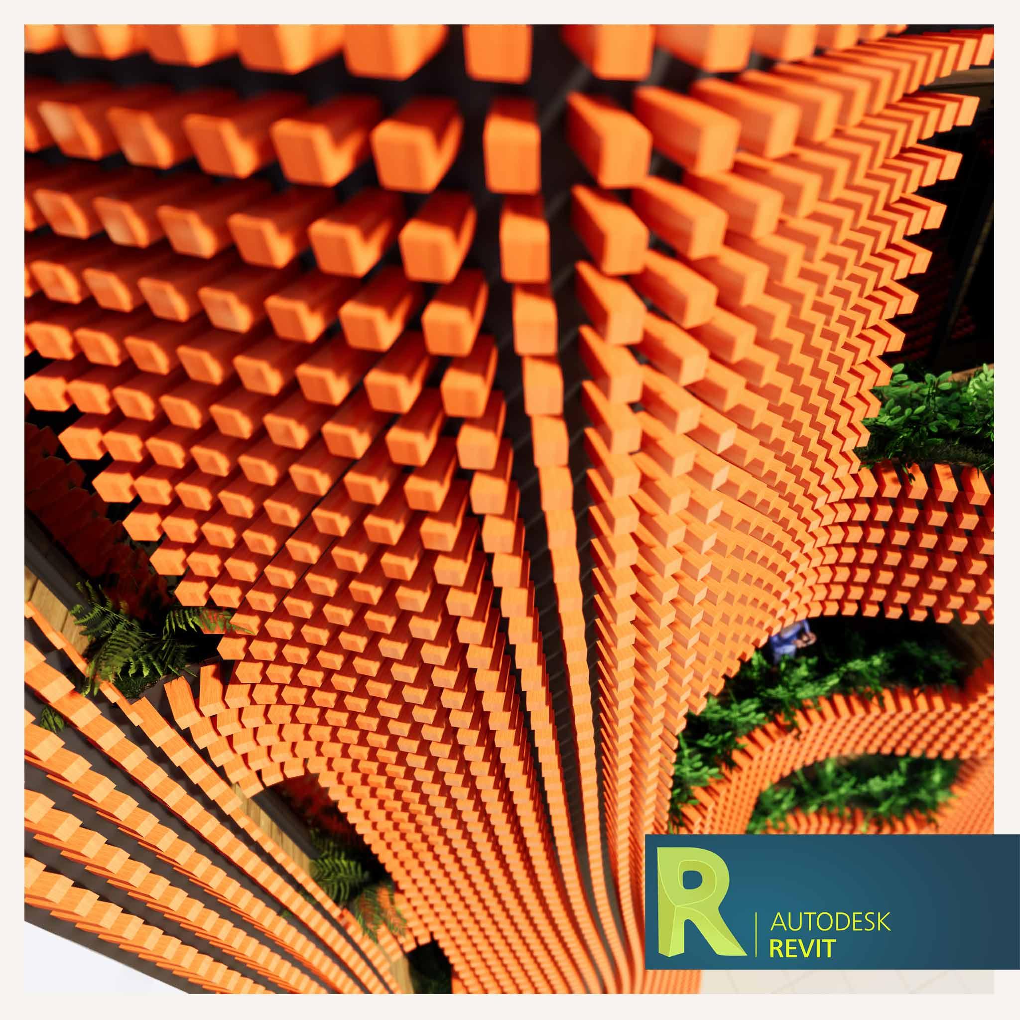 در این آموزش شما با نحوه طراحی و مدلسازی نمای پارامتریک در Revit آشنا خواهید شد . طراحی پوسته در Mass و استفاده و ترکیب آن با بدنه ساختمان .