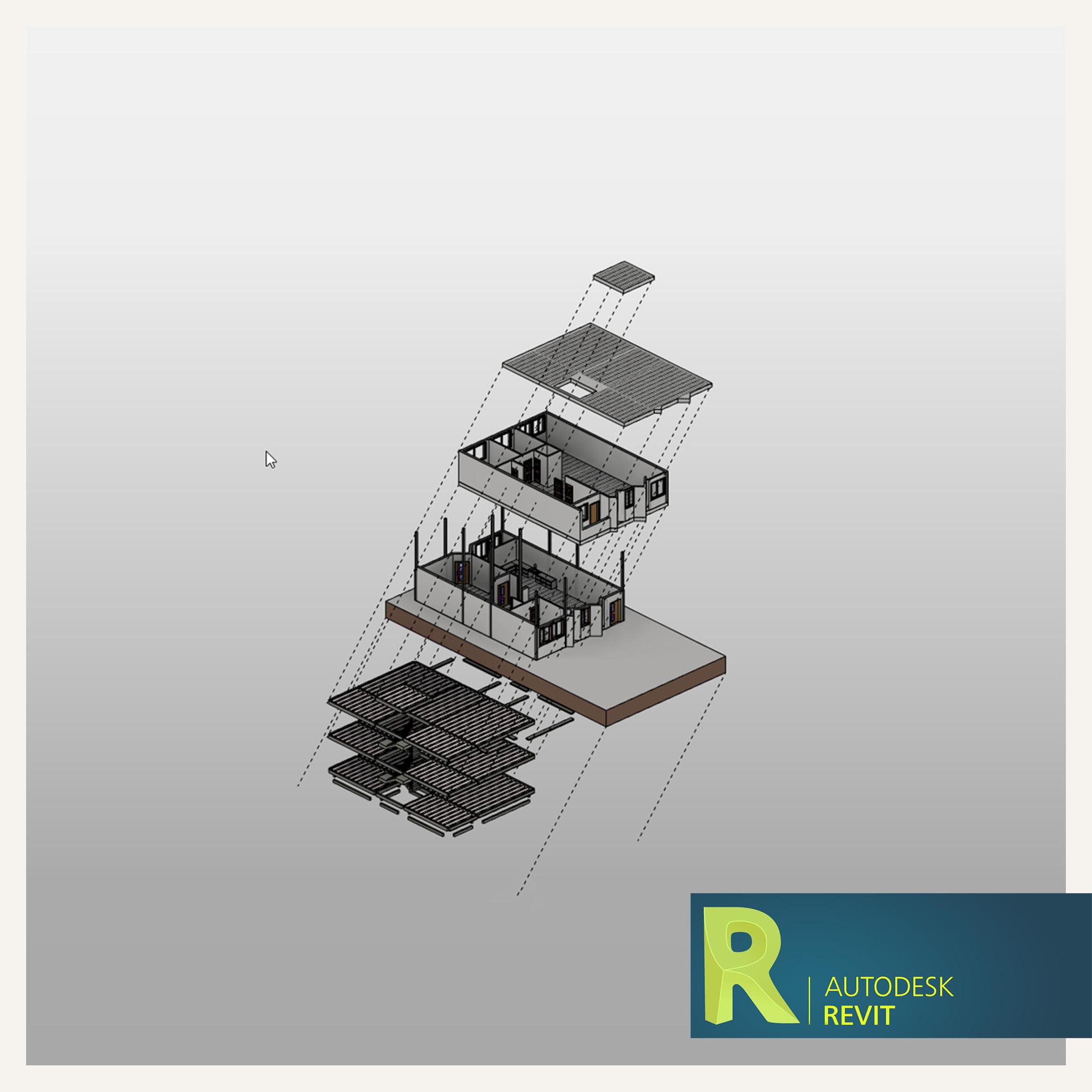 گسترده سازی پروژه در Revit