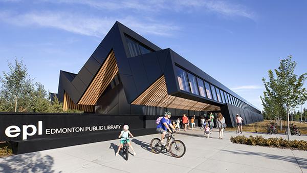 کتابخانه کاپیلانو ؛ طرحی برای انعکاس طبیعت ادمونتون
