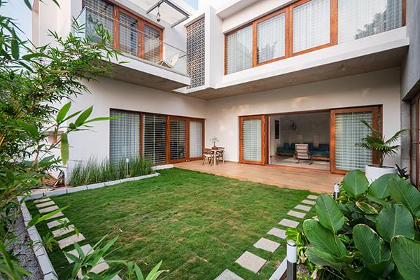 خانه The Urban Courtyard