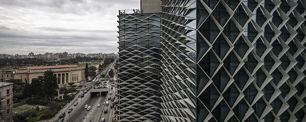 دفتر مرکزی First National Bank در بیروت ؛ شکوهی از جنس محیط زیست